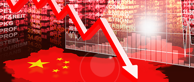 China economy on course to suffer its worst quarter since Tiananmen Square